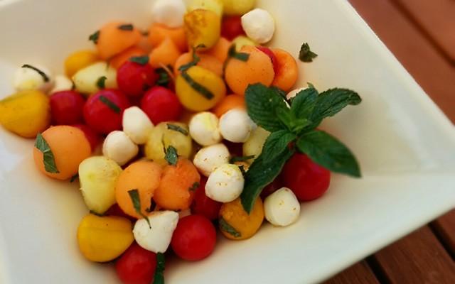 Recette Salade de crudités fraicheur