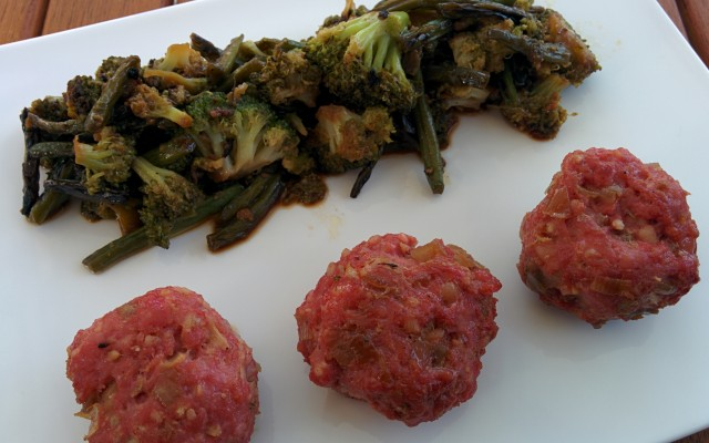 Recette de boulettes de porc à la citronnelle, sauté de légumes
