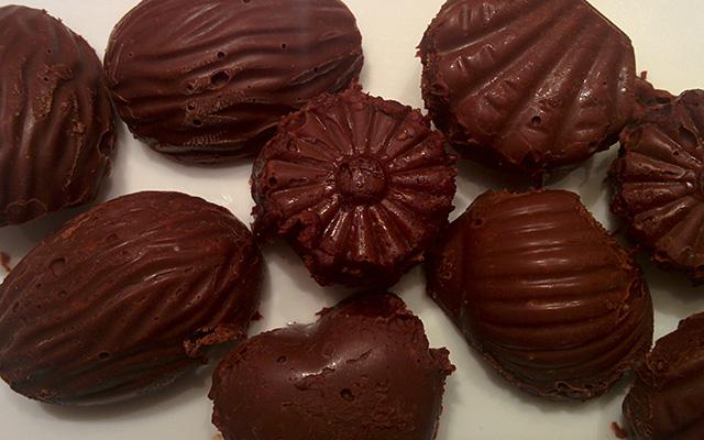 Recette des chocolats de Noel