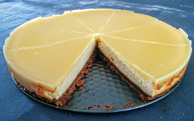 Cheesecake au citron mon menu de la semaine - Recette dessert rapide thermomix ...