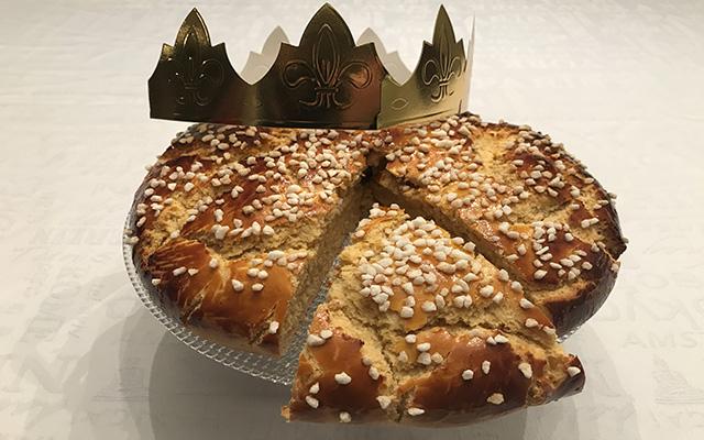 Recette de la Galette des rois briochée aux éclats de sucre